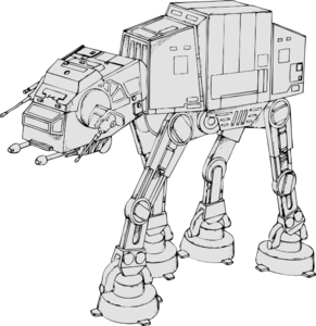 At-at Clip Art