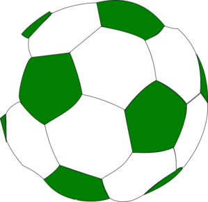 Green Soccer Ball Clip Art