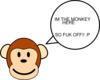 My Monkey Is Bad!!!! Clip Art
