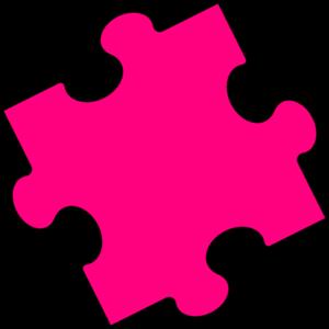 pink puzzle piece clip art at clker com vector clip art online rh clker com clipart puzzle pieces together clipart puzzle pieces