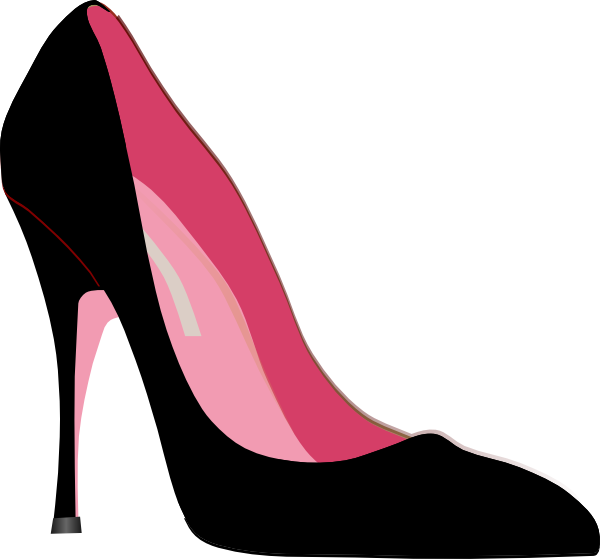 heel clip at clker vector clip
