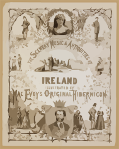 The Scenery, Music & Antiquities Of Ireland Illustrated By Macevoy S Original Hibernicon Clip Art