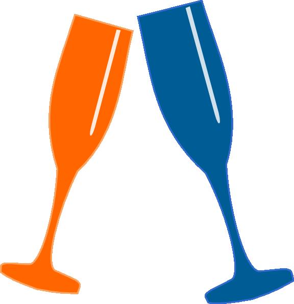champagne glasses clipart. Champagne Glasses