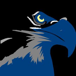 blue eagle logo clip art at clker com vector clip art online rh clker com american eagle logo pictures bald eagle logo pictures