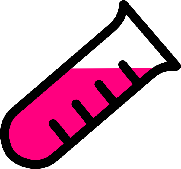 pink test tube clip art at clker com vector clip art online rh clker com test tube rack clipart test tube clip art free