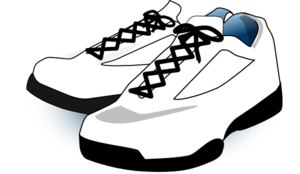 Tennis, Shoes Clip Art