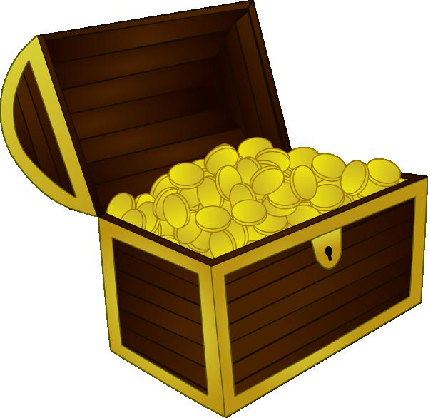 Treasure Chest Clip Art at Clker.com - vector clip art ...  Treasurer