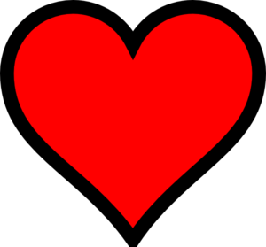 Very Small Red Heart With Transparent Background Clip Art