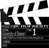 Dufilm Society Clapperboard Clip Art