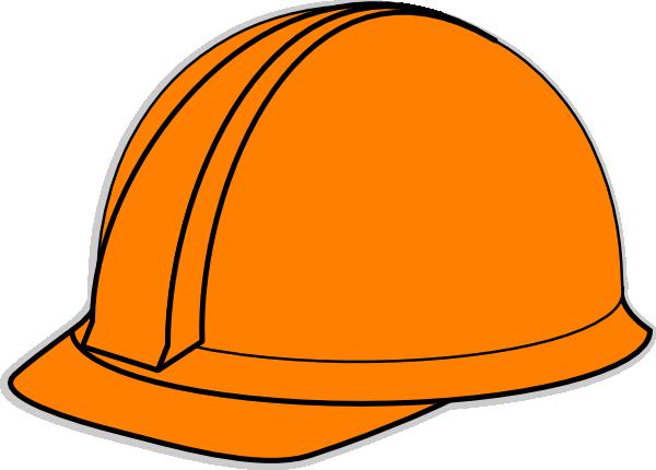 orange hard hat clip art at clker com vector clip art online rh clker com hard hat clip art free yellow hard hat clip art