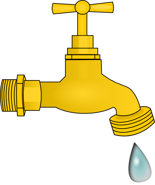 dripping faucet clip art at vector clip art online royalty free public domain. Black Bedroom Furniture Sets. Home Design Ideas