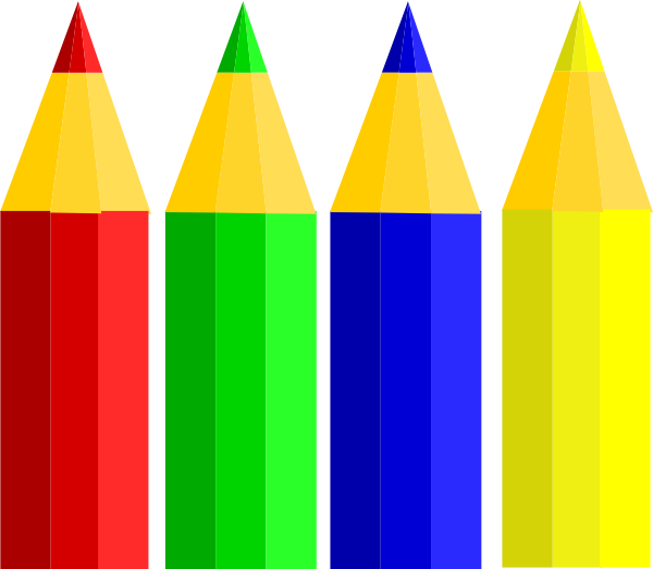 4pencils clip art at clker com vector clip art online Clip Art Black Crayon Brown Crayon Clip Art