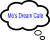 Mo S Dream Cafe Clip Art