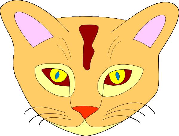 Cat Face Clip Art at Clker.com - vector clip art online ...