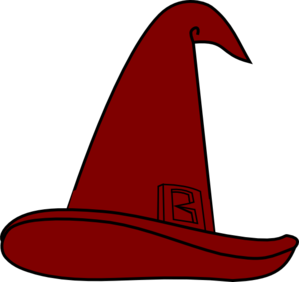 Wizard Hat Brown Clip Art