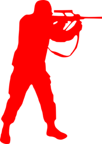 Red Soldier Clip Art