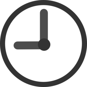 Clock 9:00 Transparent Clip Art