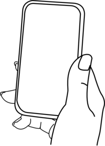 Iphone Hold 123 Clip Art