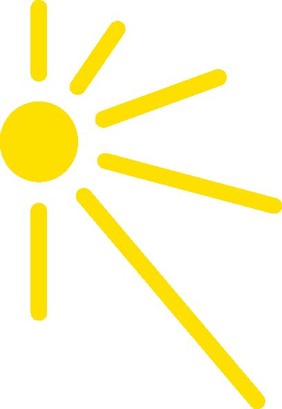 half sun clip art at clkercom vector clip art online