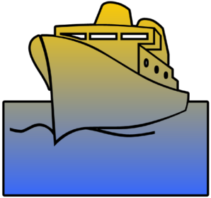 Ship Cutout Clip Art