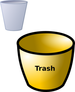 Trash Can Clip Art