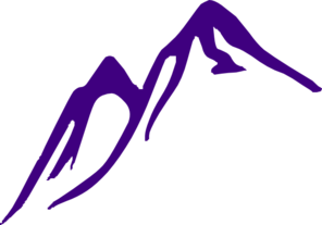 purple mountain clip art   vector clip art online  royalty free
