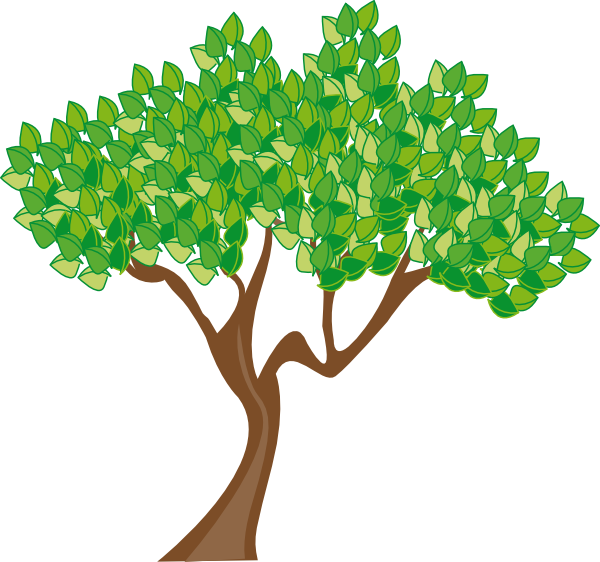 Summer Or Spring Tree Clip Art At Clker Com Vector Clip Art Online