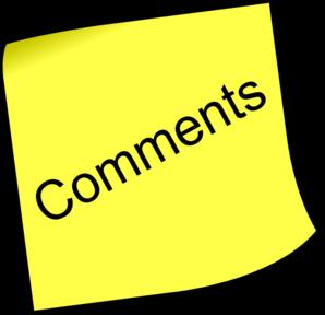 Comment Symbol