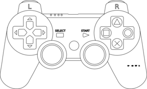 Playstation Controller Clip Art
