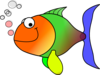 Comic Fish Clip Art