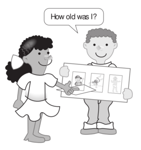 Kids Story Board Clip Art