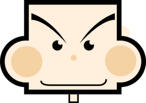 Rectangle Face Clip Art