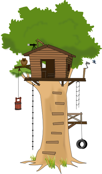 clipart pictures tree house - photo #2