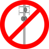 No Cellular Tower Clip Art