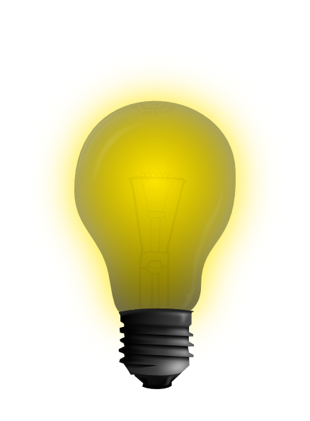 free clipart images light bulb - photo #22