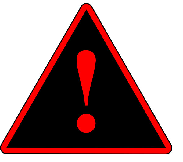 Image result for red warning png sign