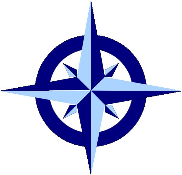 blue compass rose clip art at clker com vector clip art online rh clker com wind rose compass clipart compass rose clip art simple