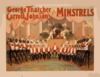 George Thatcher And Carroll Johnson S Minstrels Clip Art