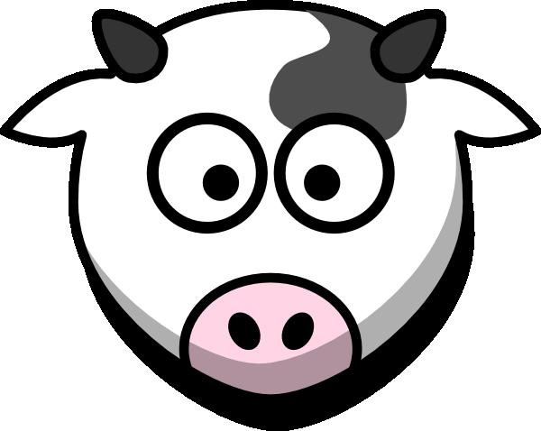 Cute Cow Head Drawing Cartoon Cow Face...600