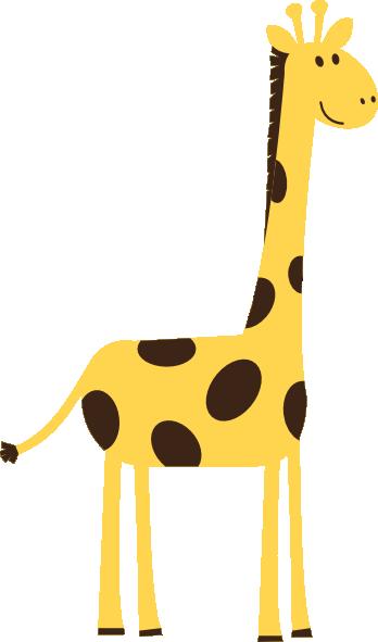 Big Giraffe Clip Art at Clker.com - vector clip art online ...