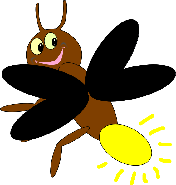 firefly clip art at clker com vector clip art online royalty free rh clker com fireflies clipart free fireflies in jar clipart
