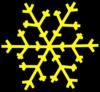 Pink Snowflake Clip Art at Clker.com - vector clip art ...