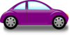 Purple Car Clip Art