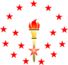 Red Torch Clip Art