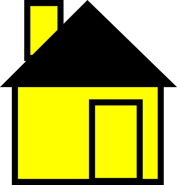 download this image as - Simple Drawing House