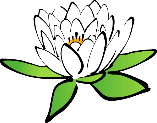 Lotus Flower Clip Art At Clker Com Vector Clip Art Online Royalty Free Public Domain