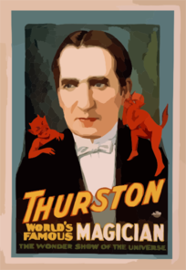 Thurston, World S Famous Magician The Wonder Show Of The Universe. Clip Art