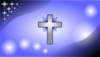 Glowing Cross Wallpaper Clip Art