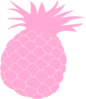 Pink Pineapple Clip Art