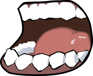 Pics For > Mouth Speaking Clipart